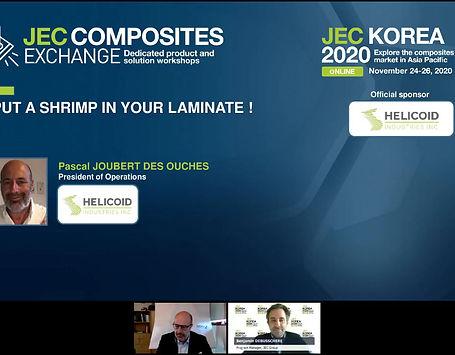 2020 JEC Korea Presentation - Pascal Joubert Des Ouches
