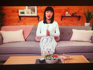 Why you should never meet your idols, a review of Netflix's Tidying up with Marie Kondo.