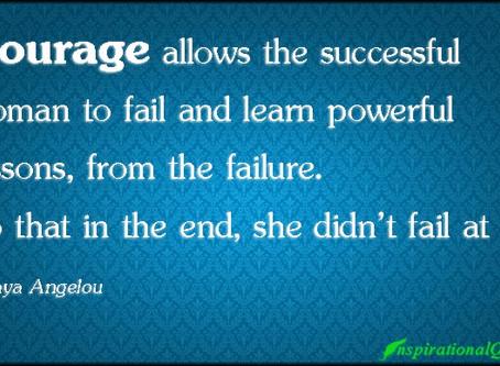 When you feel like a failure....