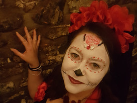 Halloween Face Painiting