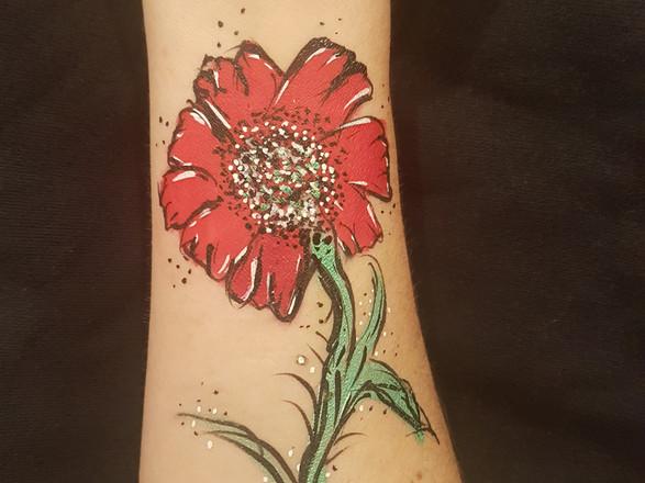Poppy Face Paint
