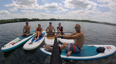 stand up paddle sup in bedford and milton keynes hire a board and have fun friends family group activity