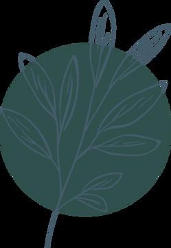 Garden Bleau Leaf Background