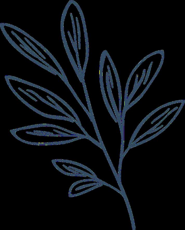 garden bleu leaves.png