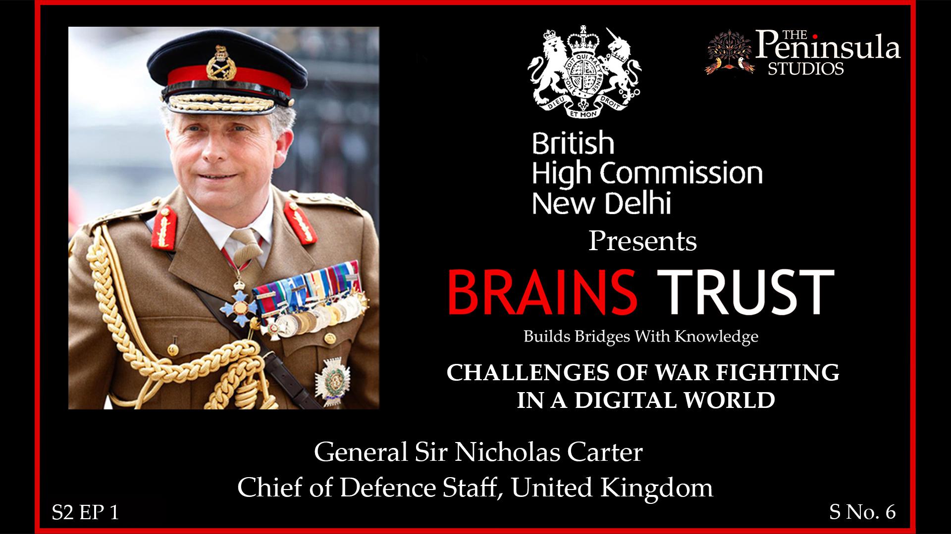 Sir Nicholas Carter