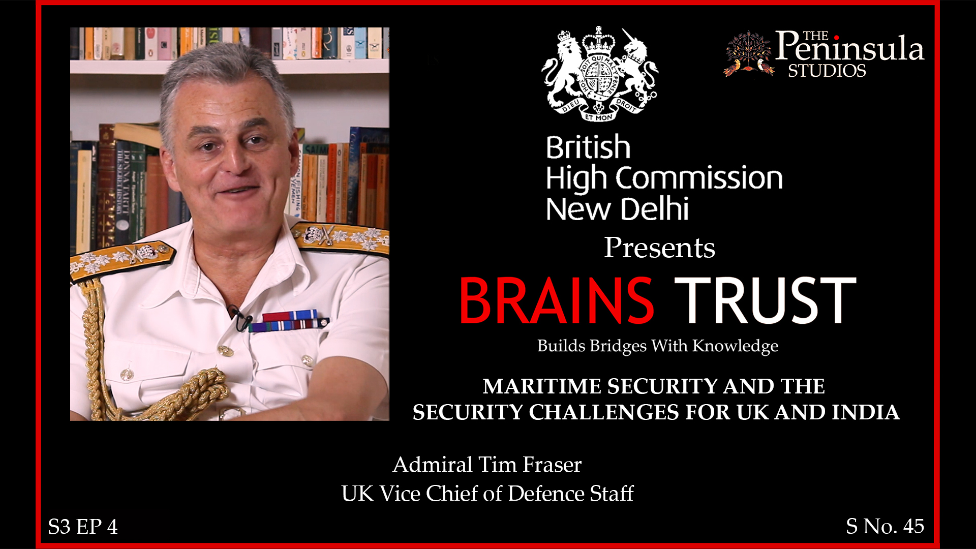 Admiral Tim Fraser