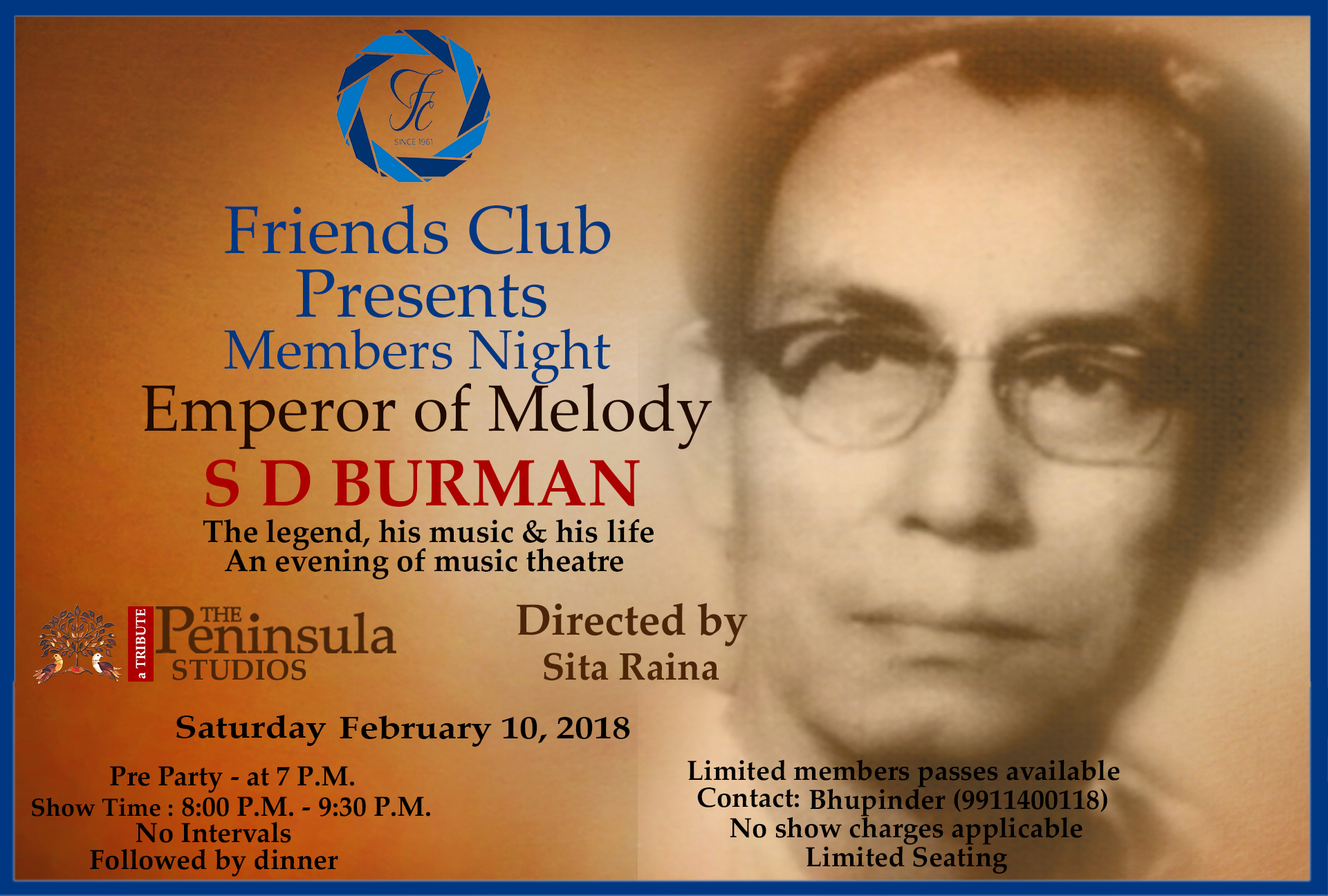 SD BURMAN 10 FEB