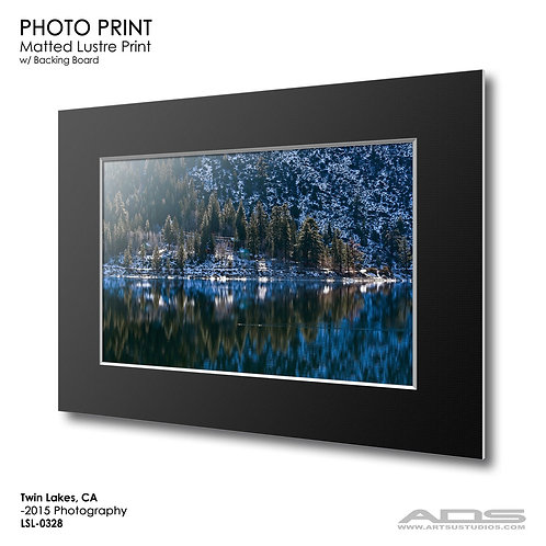 TWIN LAKES, CA: Photo Print