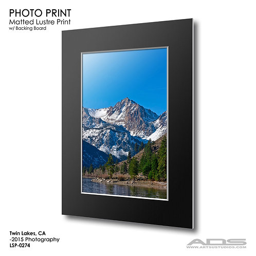 TWIN LAKES, CA: Photo Print