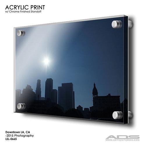 LOS ANGELES, CA: Acrylic Print