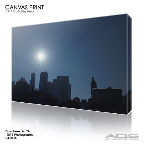 LOS ANGELES, CA: Canvas