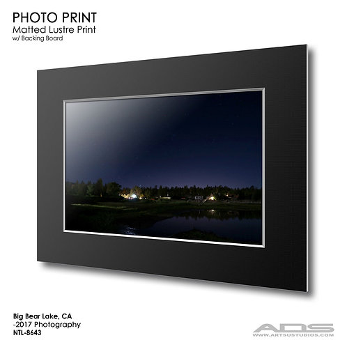 BIG BEAR, CA Photo Print
