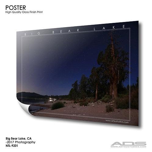 BIG BEAR, CA Poster