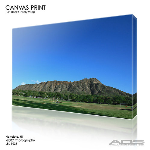 HONOLULU, HI: Canvas