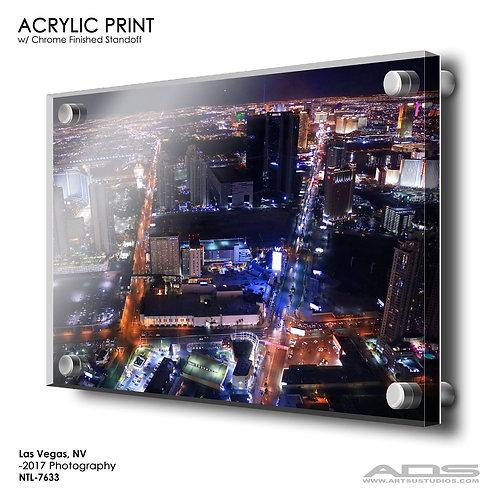 LAS VEGAS, NV: Acrylic Print