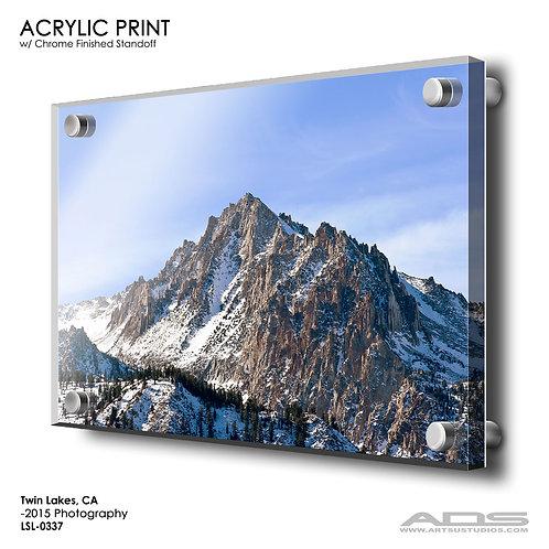 TWIN LAKES, CA: Acrylic Print