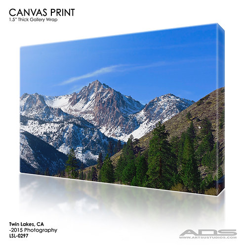 TWIN LAKES, CA: Canvas