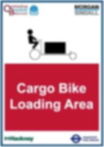 O&B Morgan Sindall Cargo Bike Loading Ar