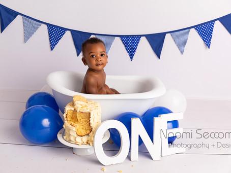 Anenyasha - First Birthday