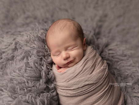 Lincoln - Newborn Session