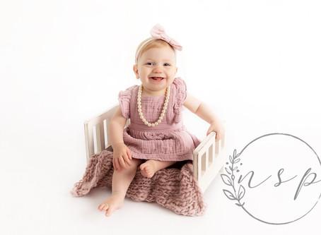 Isabella - First Birthday