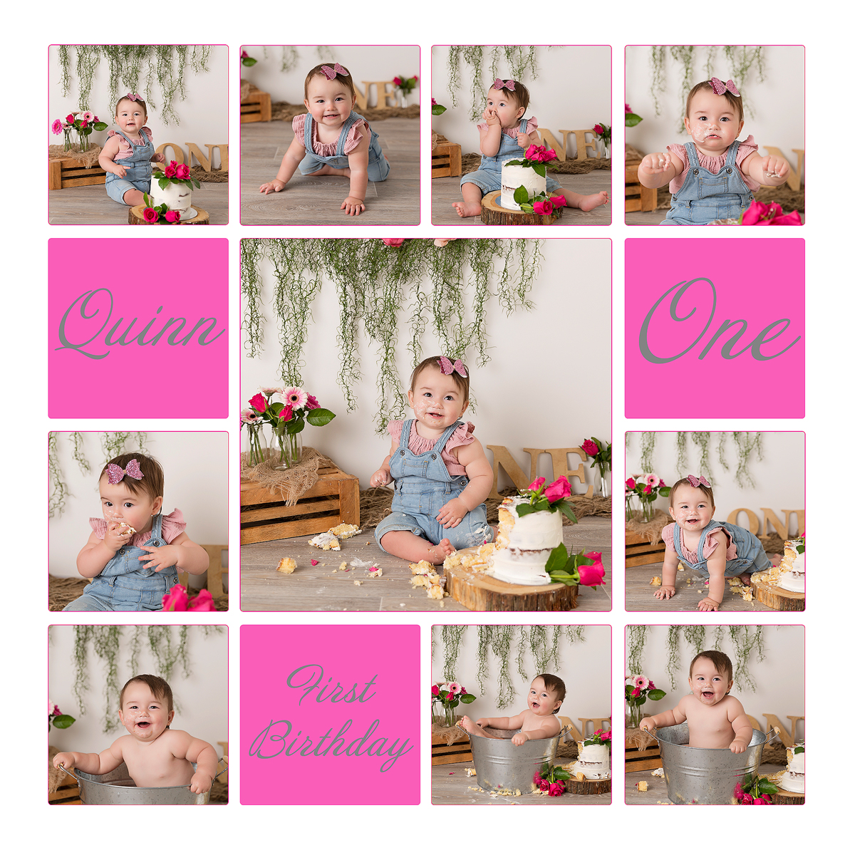 Quinn Cake SMash Collage