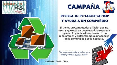 "Campaña: ""Recicla tu PC"""