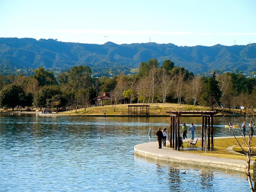 Lake Balboa; Los Angeles Love Affair