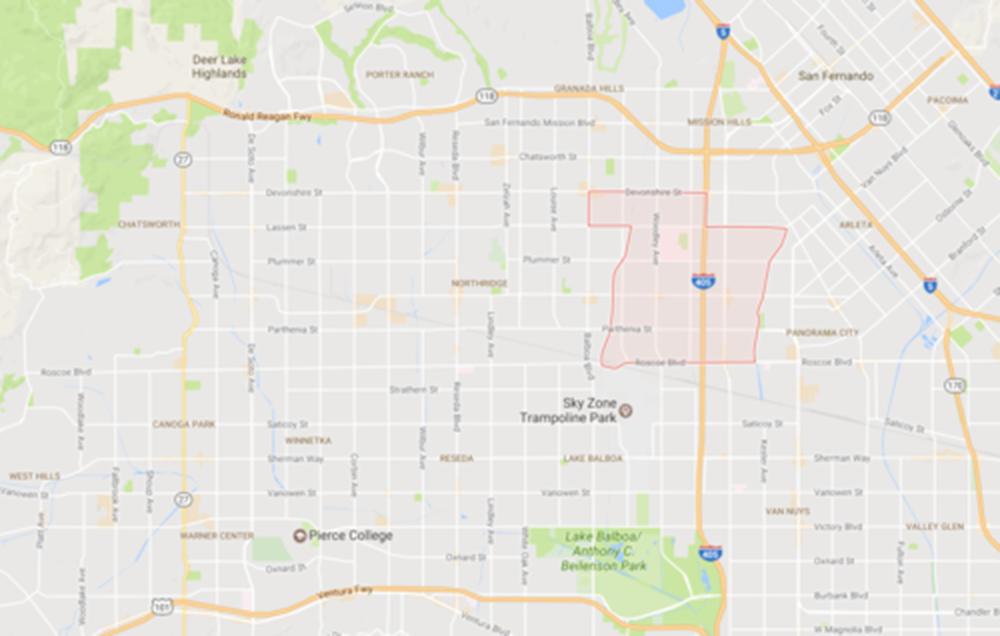 North Hills, Courtesy Google Maps