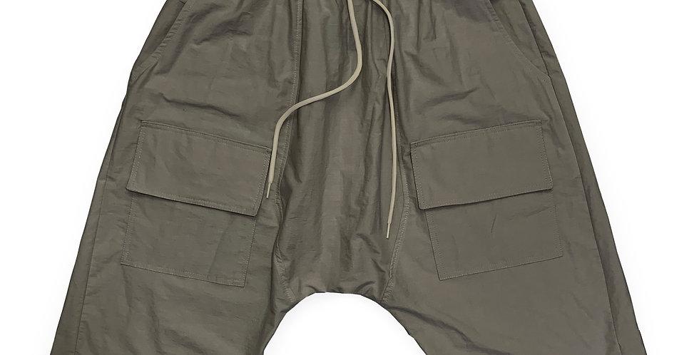 Bermuda baggy bolsillos delanteros gris