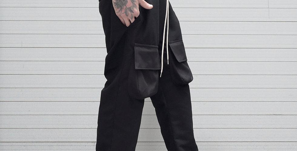 Pantalón jogging maxi bolsillos