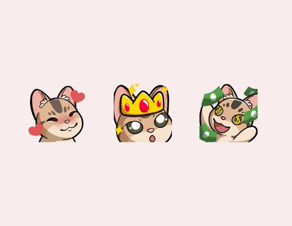 Cat Emotes