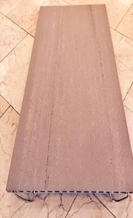 אריחי פורצלן Frontek לריצוף גגות ירוקים