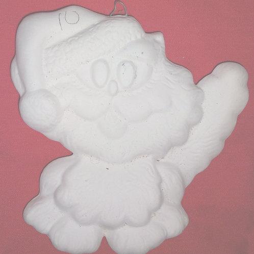 Crazy cat ornament