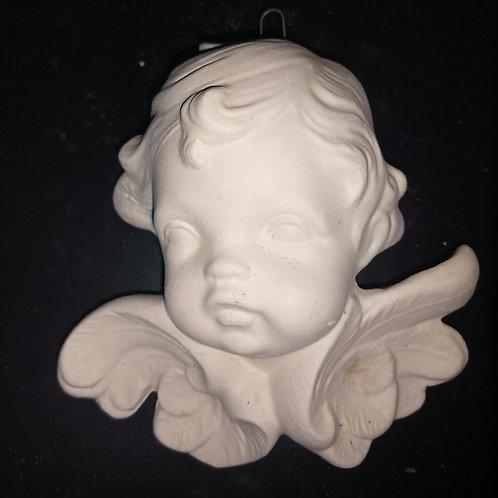 Cherub Bust ornament