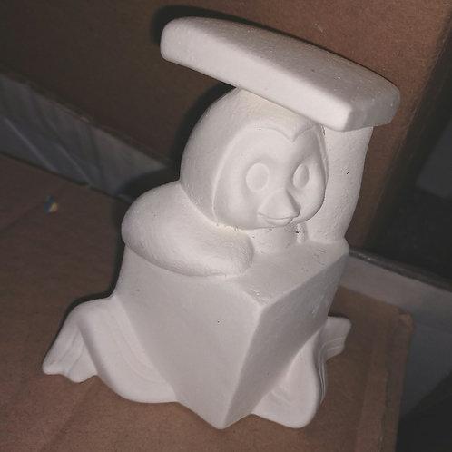 Penguin in box