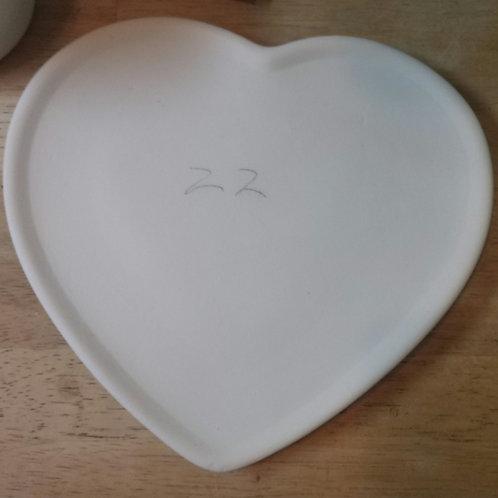 Heart ❤️ plate