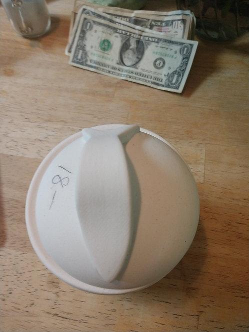 Medium cat treat jar with lid