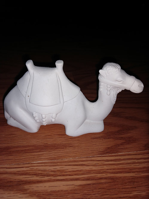 Lying camel small nativity