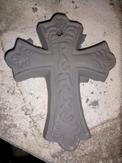 """peace"" cross ornament"