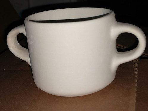 2 handled mug