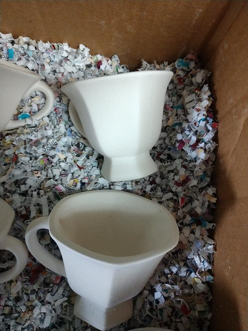 Hexagon tea cup