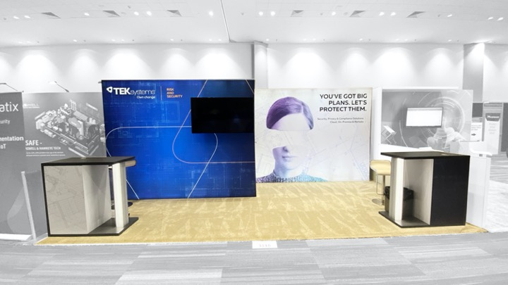 RSA 20' Booth