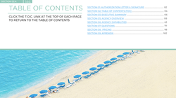 Interactive Table of Contents