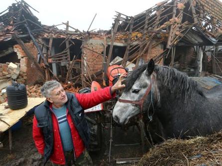 Сильное землетрясение поразило Хорватию