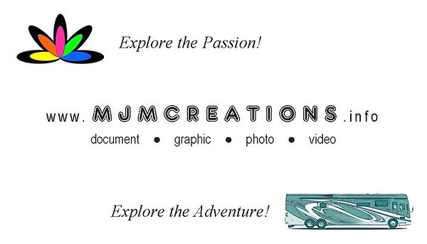 MJM Creations - Business Card - for Prin