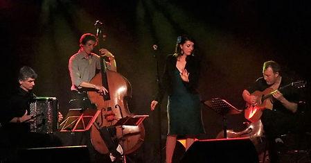 Jazzette Band quartet