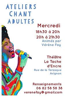 ateliers de chant Avignon Vérène Fay