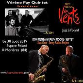 Festival jazz au vents Vérène Fay quintet
