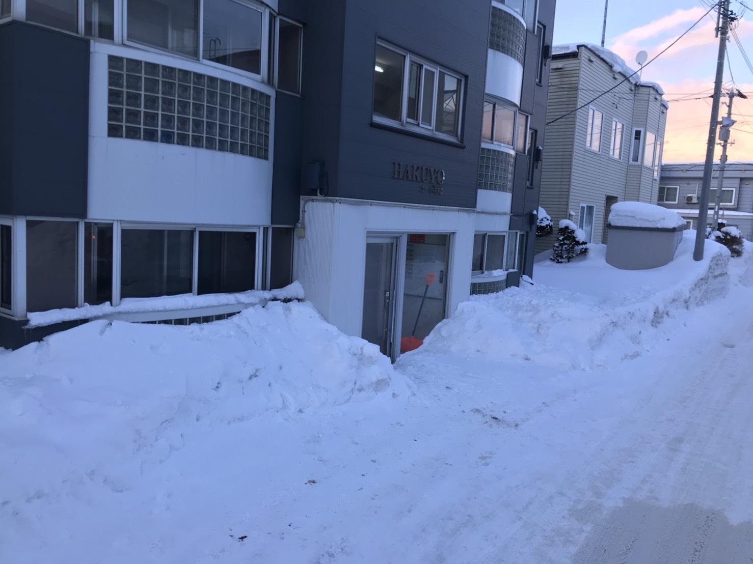札幌市の排雪はジャパンウェーブインダストリーへ